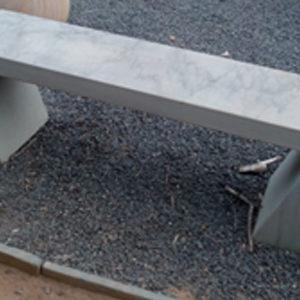 Bench-Grey-Slant-Legged